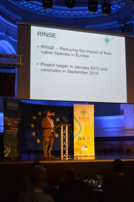 Our very own Mike Sutton-Croft presenting at the RINSE conference.